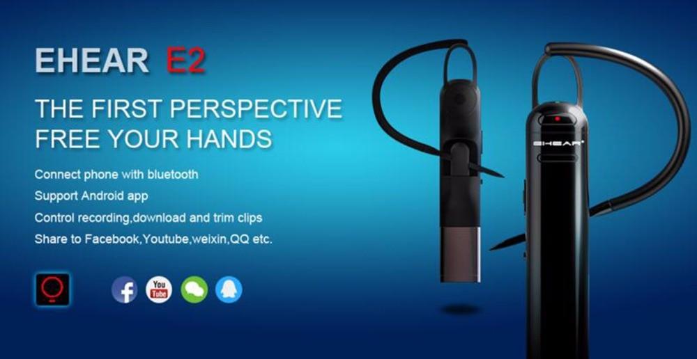 EHEAR E2 DV + CMOS Camcorder + Bluetooth Headset for Android Device ... EHEAR E2 DV + CMOS Camcorder + Bluetooth Headset for Android Device  biuetooth earphone.-in Bluetooth Earphones & Headphones from Consumer  Electronics on ...