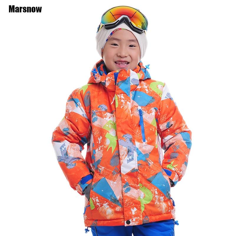 Snowboarding jacket for children waterproof windproof breathable outwear warm kids boys ski coat winter snow jacket girls kids boys girls ski snowboarding jacket for boys