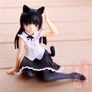 "Image 3 - Hot Gokou Ruri Comic Anime Oreimo Kuroneko Ore No Imouto Cute Sexy Sit Dream Tech 4"" Action Figure"