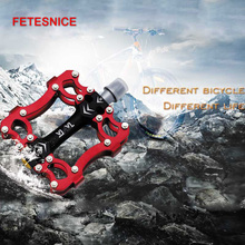 цена на Bicycle Pedals Titanium Axle Anti-slip Ultralight CNC MTB Mountain Bike Pedal Sealed Bearing Pedals Bicycle Accessories