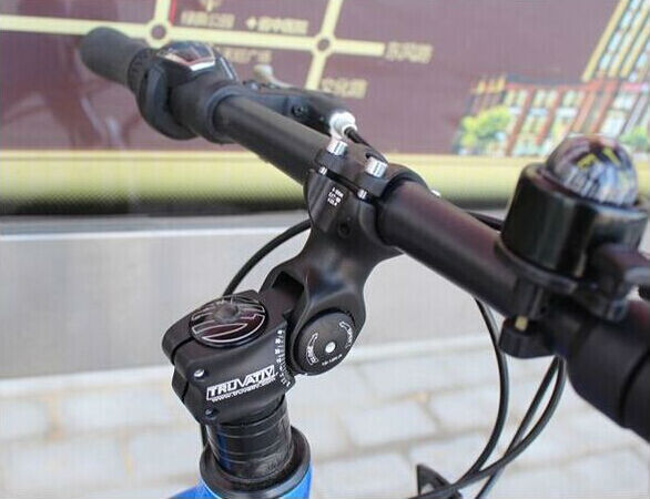 Mountain Mtb Bicycle Adjustable Stem 31 8 Riser Bike Cycling Stem