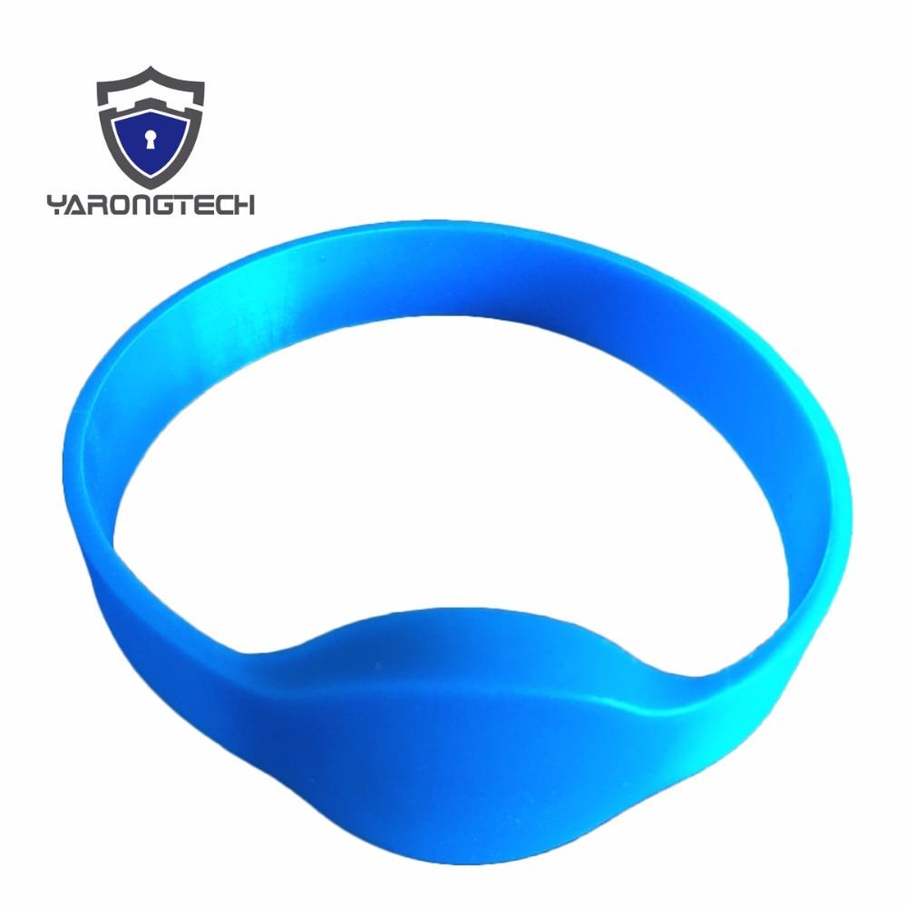 eco friendly 125khz EM4100 round head Waterproof silicone id wristband,rfid bracelet,rfid wristband
