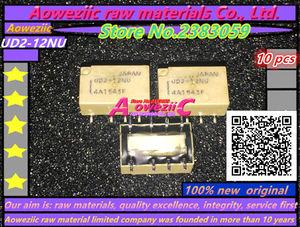 Image 4 - Aoweziic (10 PCS) חדש מקורי UD2 3NU 3V UD2 4.5NU 4.5V UD2 5NU 5V UD2 12NU 12V ממסר