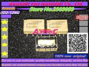 Image 4 - Aoweziic (10 PCS) neue original UD2 3NU 3V UD2 4.5NU 4,5 V UD2 5NU 5V UD2 12NU 12V relais