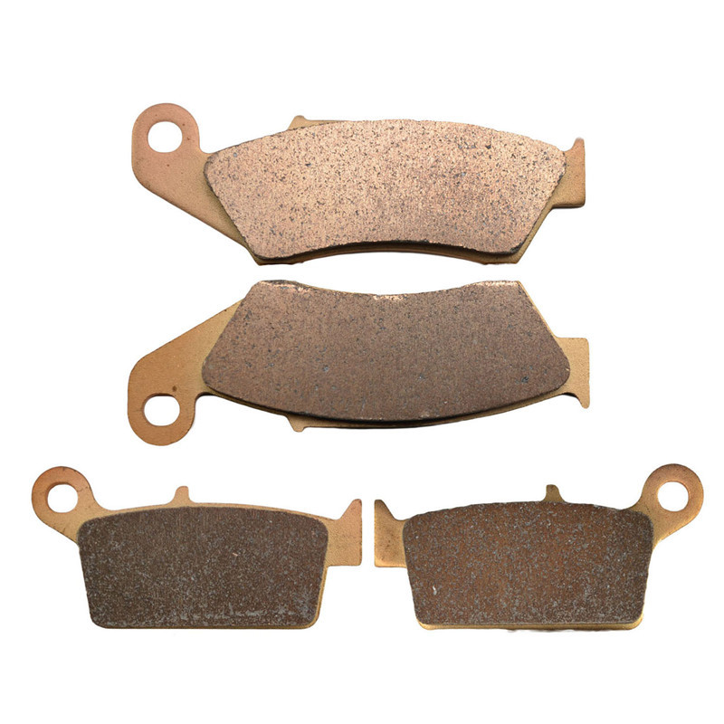 Motorcycle Parts Front & Rear Brake Pads Disk For KAWASAKI KX125 KX250 KX500 KLX250S KLX300 KLX400R KLX400SR KLX650R D1 motorcycle rear brake pads fit for malaguti madisont 125 250 f18 spidermax rs scarabeo300 password250 r125 phantommax