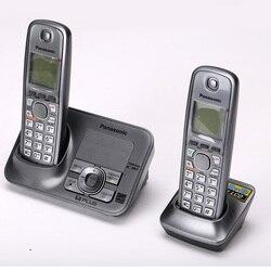 Dect6.0 telefone sem fio fone de ouvido sem fio com sistema de resposta intercomunicador interno handfree inglês espanha língua para casa