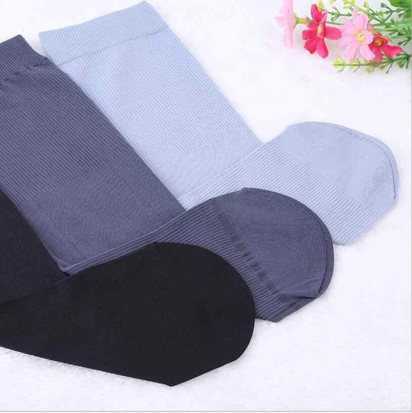 10 Pairs/set Men Cool Thin Socks Bamboo Fiber Summer Fashion Middle Breathable Socks Harajuku Multi Colors Gifts for Men