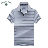 2014 New Casual Men S Short Sleeved T Shirt Lapel Striped Short Sleeve Classic Male POLO