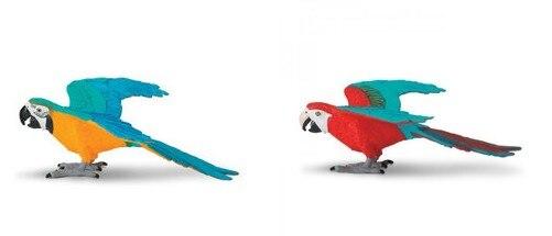 pvc figure king kong parrot 2pcs/set