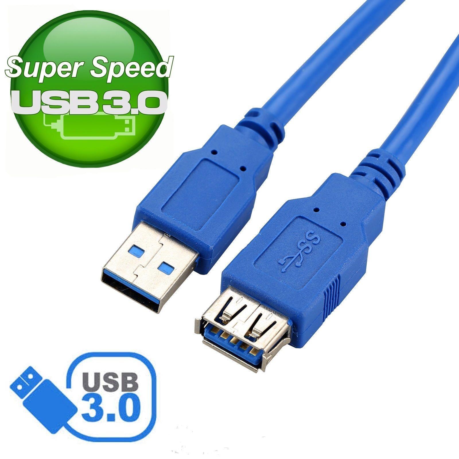 Бесплатная доставка 3 м USB 3,0 мужчин и женщин удлинитель USB3.0 синхронизации данных быстро Скорость шнур разъем для портативных ПК принтер Тел...