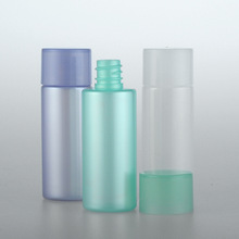 5pcs/set 18ml Pearlescent bottle Purple green white Small sample Sub-bottle High-end cosmetic packaging wholesale BQ173