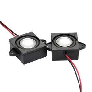 Image 3 - AIYIMA 2 Pcs Full Range Audio Tragbare Lautsprecher 8 Ohm 3 W Einzel Tone Lautsprecher Mini Stero Werbung Computer Lautsprecher