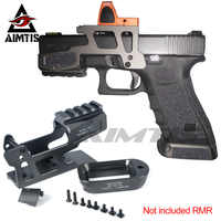 AIMTIS ALG Defense 6-Second Mount Optics Scope Mount RMR For Pistol Gen3 Glock 17 18C 22 24 31 34 35 Handguns With Magwell
