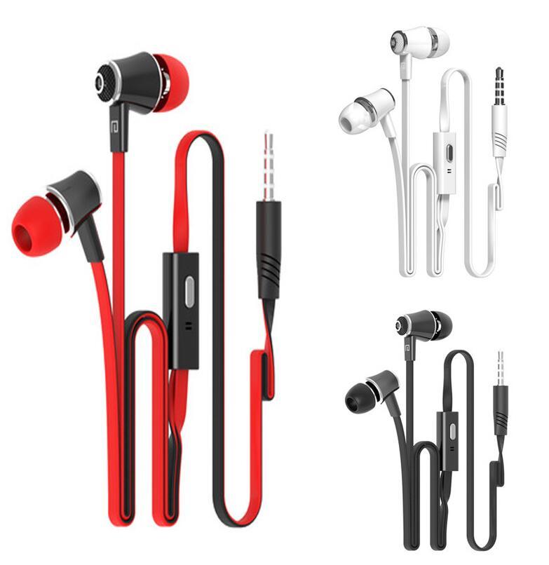 Dhl 200 StÜcke Langsdom Jm21 Stereo Bass Kopfhörer Ohrhörer Headset Mit Mikrofon 3,5 Mm Freisprecheinrichtung