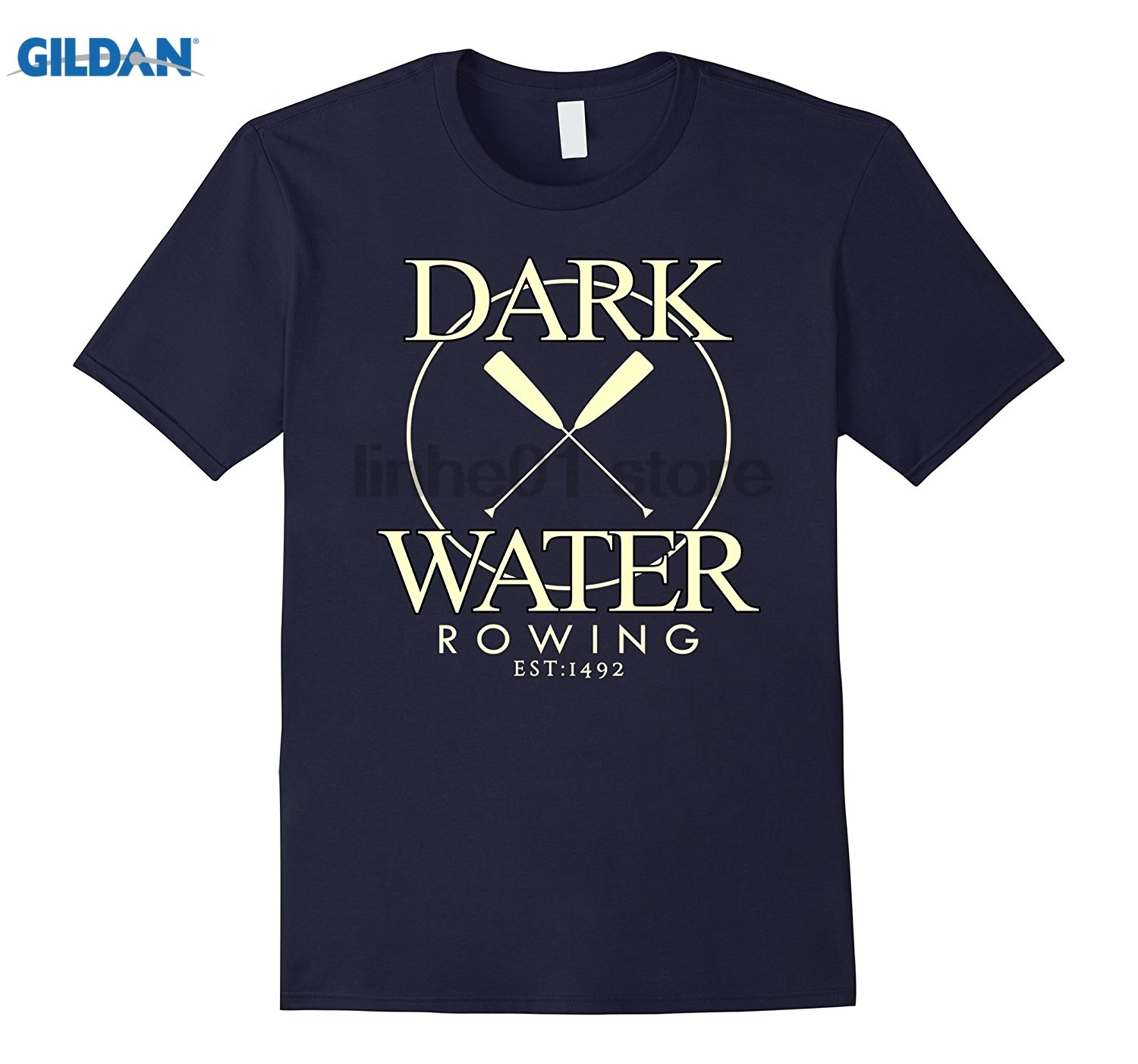 GILDAN Dark Water Rowing Club 1492 Row Enthusiast Athlete T Shirt glasses Womens T-shirt Hot Womens T-shirt