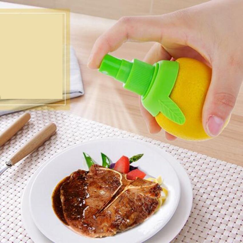 2PCset Creative Gadgets Lemon Sprayer Mutfak Fruit Juice Citrus Spray Cooking Tools Cocina Criativa Kitchen Accessories