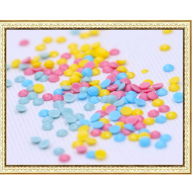 Arritja e re Diy Diamond Painting Cross Stitch Mozaiku Diamanti - Arte, zanate dhe qepje - Foto 2