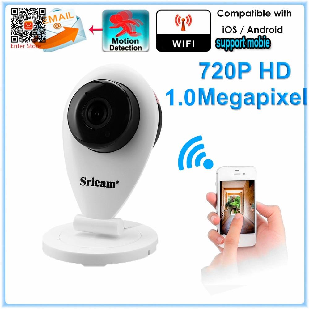 New Sricam 720P H 264 Wifi Megapixel IP Night Vision Smart font b Camera b font