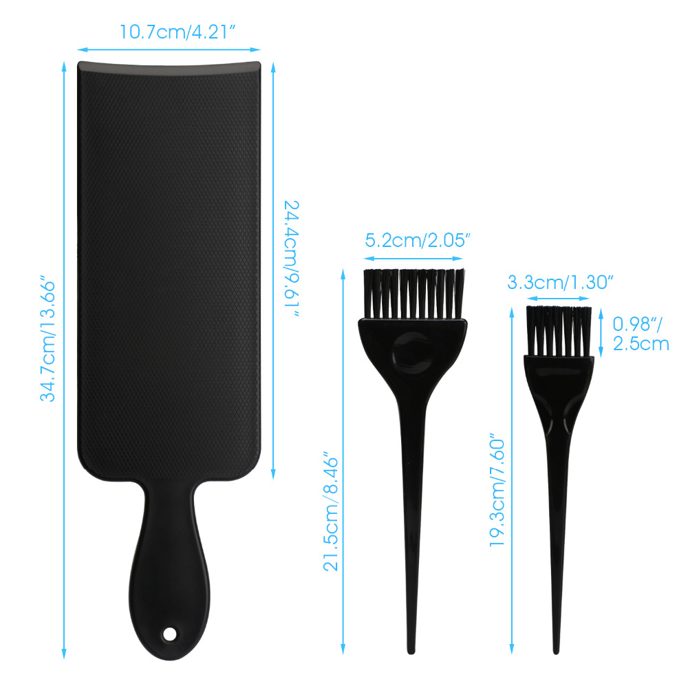 Balayage highlights board and brush set hair coloring kit on hair balayage highlights board and brush set hair coloring kit on hair dye hair highlighting paddle for ombre hair dye in styling tools from beauty health on pmusecretfo Choice Image