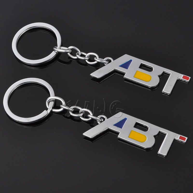 Car Keyring Keychain Key Chain Key Ring Holder For ABT Sportsline VW ... 7830a157199d