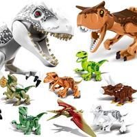 legoed animals dinosaur set jurassic park ninjago Figures brinquedos enlighten building blocks toys figures for children gift