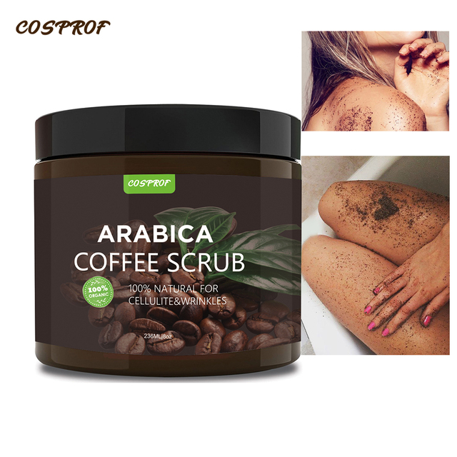 Cosprof Coffee Exfoliating Body Scrub  2