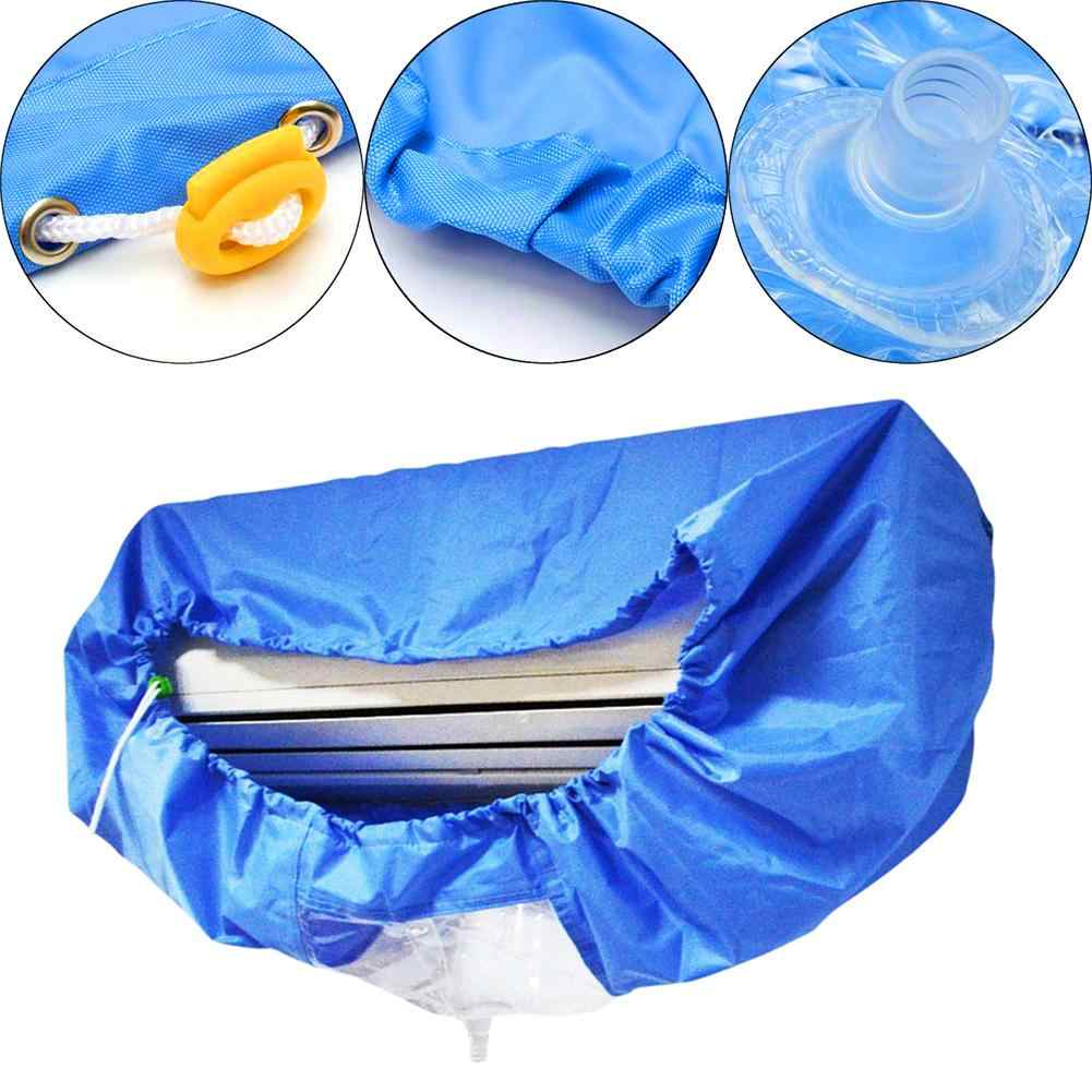 new Waterproof Air Conditioner Washing Cleaning Cover Anti-Dust Sleeve Protector Bag Air Conditioner Covers