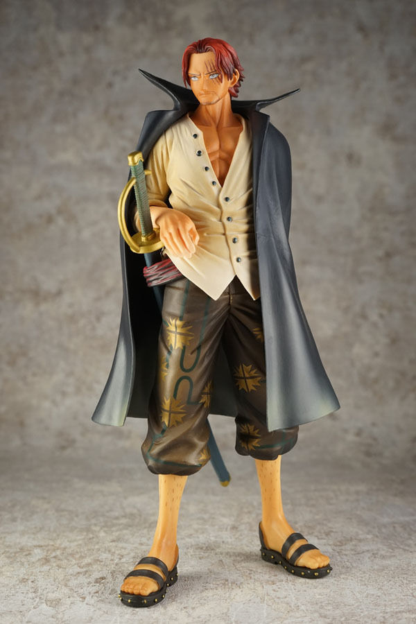 Banpresto One Piece Master Stars Piece MSP Shanks PVC Figure