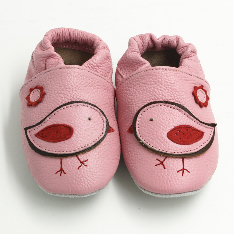 23bd17c17 Cow Leather Baby Shoes Newborn Baby Girl Shoes Baby Moccasins Anti Slip  Slippers Soft Infant Shoes Toddler Kids Shoes Boys 0 2y-in First Walkers  from Mother ...