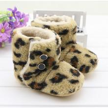 Winter high top brand Baby Shoes soft bo