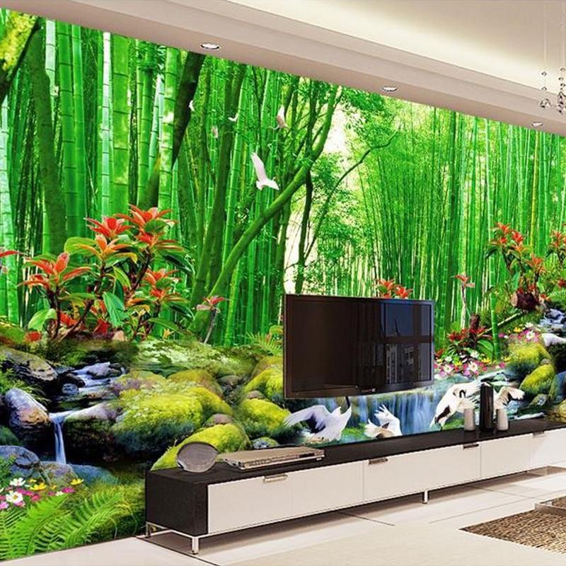 Aliexpress.com : Buy Custom 3D Photo Wallpaper Modern Bamboo Forest  Landscape Mural Wallpaper Living Room Bedroom TV Sofa Backdrop Wallpaper  Murals From ... Part 85