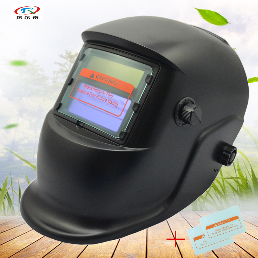 Mig Welder For Sale >> Us 20 73 11 Off Auto Darkening Welding Helmet Mask Black Hot Sale Solar Inner Battery Power Welding Mask For Mig Welder Equipment Hs01 2233de In