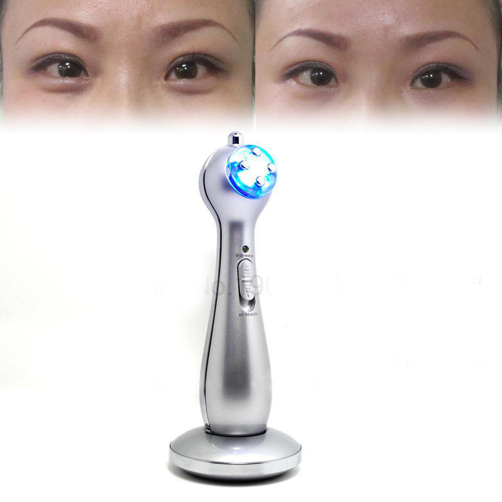 Multifunction Dot Matrix RF Reduce eye wrinkles Potent Remove Dark Circles Desalination bags the eyes Eye Care Device 2017 hot colorful eye beauty instrument remove the dark circles to wrinkle bags face electric massage device to remove wrinkles