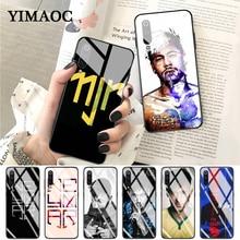 YIMAOC Brazil Neymar da Silva Santos Glass Case for Xiaomi Redmi 4X 6A note 5 6 7 Pro Mi 8 9 Lite A1 A2 F1