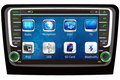 2 DIN Car Radio Audio DVD Player GPS TV Bluetooth Para SKODA RÁPIDA 2013 ~ Up Varejo/Pc Frete Grátis grátis
