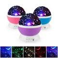Новинка  светящиеся игрушки  романтическое звездное небо  светодиодный ночник  проектор  батарея  USB ночник  творческие игрушки для детей на ...