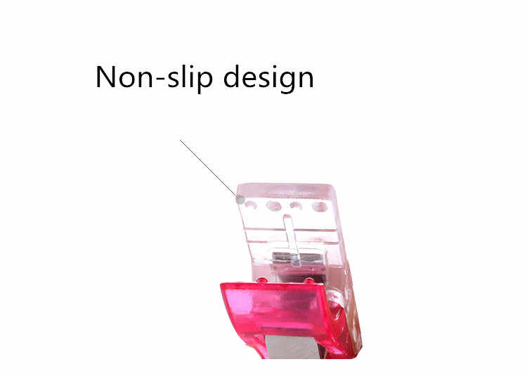 1/5/10 pcsTape Bias Maker DIY Job Foot Case Supplies Plastic Clip Hemming Sewing Tools Sewing Accessories Fabric Clover Mar