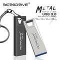 Высокоскоростной металлический флеш-накопитель USB 3,0, 16 ГБ, 32 ГБ, 64 ГБ, 128 ГБ, флеш-накопитель, водонепроницаемый usb-накопитель, мини-флешки пам...