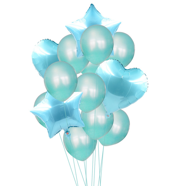 Colorful Balloons for Party Decoration 14 pcs Set