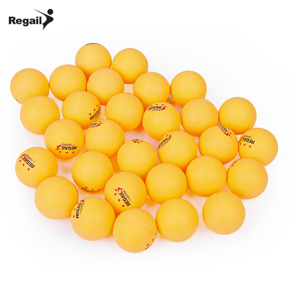 REGAIL 30 Pcs Table Tennis Balls Stand Three-Star Level 40mm Practice Table Tennis Ping Pong Ball