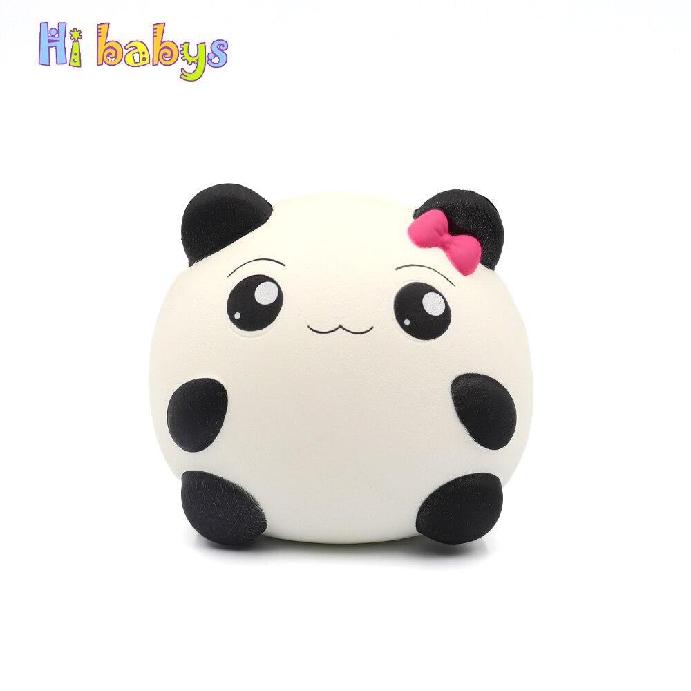 Squishes Panda Smooshy Mushy Toys Squishy Slow Rising Stress Relief Novelty Gadget Anti-stress Jumbo Panda Kids Funny Keychain gadget