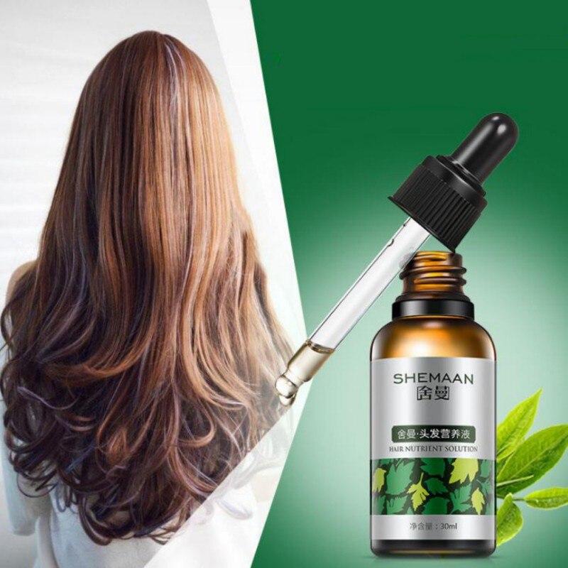 Essential Oil Hair Care Serum Keratin 100% Glycerol Nut