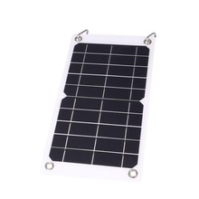 MVpower 7.5W 5V Outdoor Portable Monocrystalline Silicon Solar Panel Battery Charger Charging With USB Port
