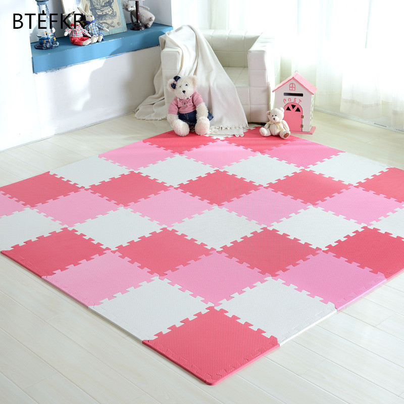 1PC Child Carpet EVA Foam Mat Kids Mat Puzzles Soft Floor Play Mat Toys For Children Jigsaw Mats Baby Gym Tapete Infantil