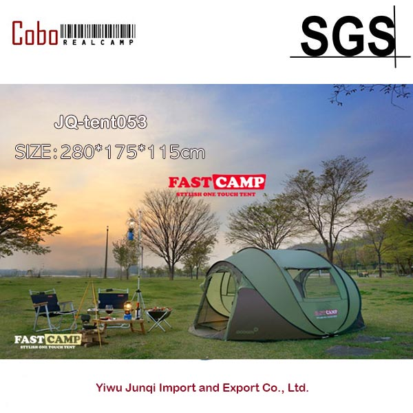 Fastcamp  Mega for 5persons-Instant Popup tent  One touch pop up fishing camping outdoor Family Tent   otomatik çadır