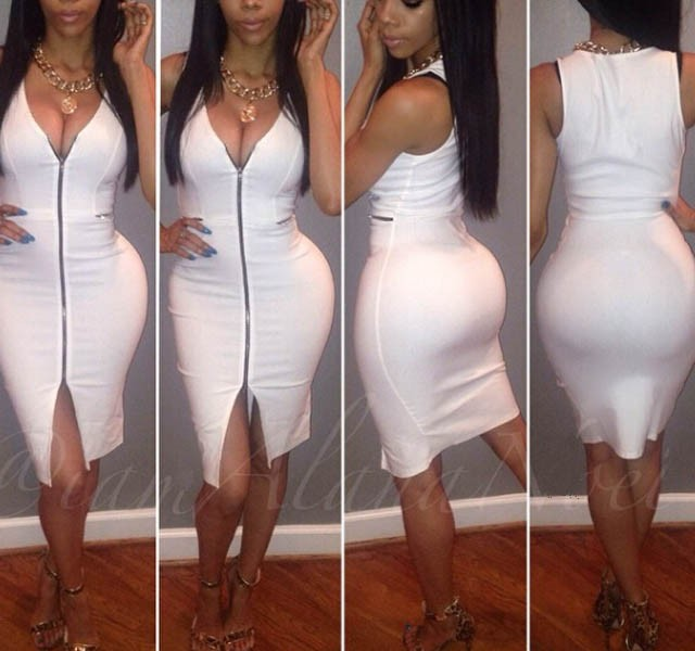 All White Party Dresses