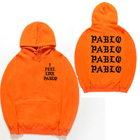 I Feel Like Paul Pablo Kanye West The Life Of Pablo Kanye Season 3 Hoodies Hip