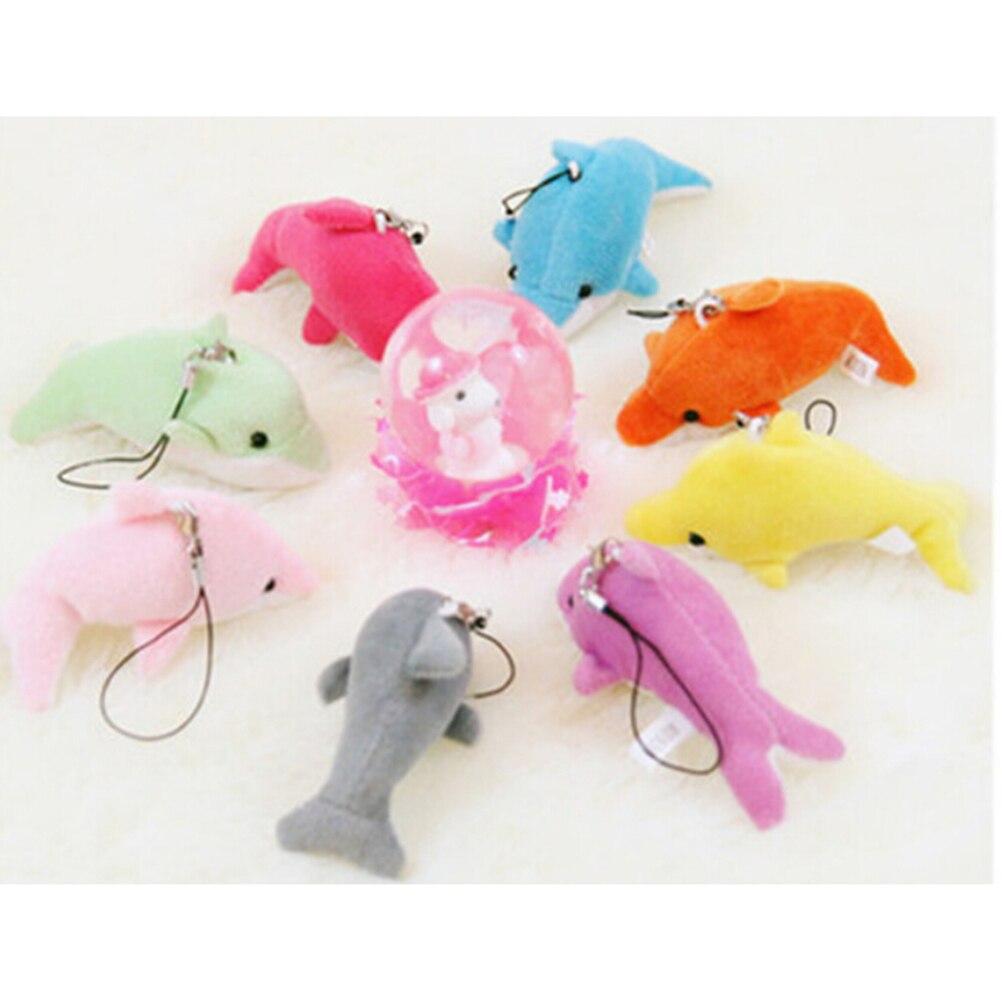 Mutter & Kinder VertrauenswüRdig Anhänger Spielzeug 6 Cm Kawaii Mini Dolphin Stofftier Puppe Hochzeitsgeschenk Bouquet Decor Plüsch Puppe Spielzeug Zubehör Tasche Teile Zubehör
