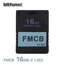 Bitfunx Бесплатная McBoot 16 Мб карта памяти для PS2 FMCB карты памяти v1.953