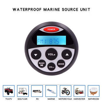Waterproof Marine Stereo Bluetooth Radio Motorcycle Audio Boat Car MP3 Player Auto Sound System FM AM Receiver For SPA UTV ATV - DISCOUNT ITEM  50% OFF All Category